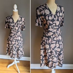 Vintage Jones NY silk shirtdress